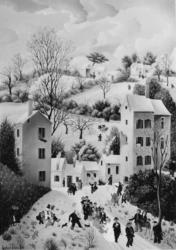 (184)- Les Mariés de l_hiver-1974-hsb 38x55.