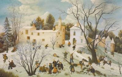 (186)-Saint Christophe du Ligneron – Vendée-1973-38x55 cm.